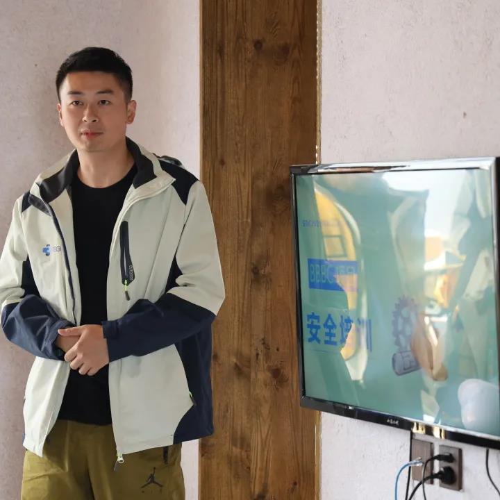 张文老师进行安全培训